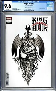 King In Black #1 - CGC Graded 9.6 (NM+)  2021 - Variant Edition
