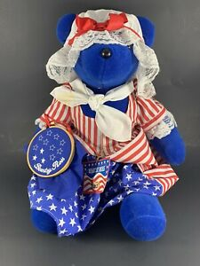 North American Bear Beartsy Ross Patriotic Very Important Bears Collection