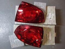 2004-2006 Nissan Sentra OEM RH LH Tail Light Lenses 26550-6Z525 26555-6Z525