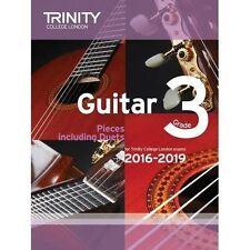 Trinity College London Guitar Exam Pieces 2016-2019 - Grade 3