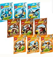 Lego Mixels Series 2 - Complete set of all 9 Mixels (41509 to 41517), brand new