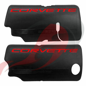 1999-2004 C5 Corvette GM LH & RH LS1 Fuel Rail Cover Set 12561502 12561503