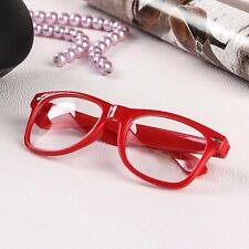 Kids Square Glossy Frame Clear Lens Fashion Glasses  Boys Girls