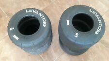 Go Kart Tires, Set of 4, Used Go Kart Tires, Lavanto 7.1 Rear, 4.5 Front