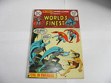 DC World's Finest 222 April 1974 Sons of Superman and Batman F/VF