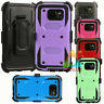 For Samsung Galaxy S7 Edge Clip Kickstand Shockproof Case Cover Holster