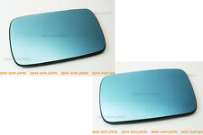 PAIR BMW 3series E30 1983~1991 MIRROR GLASS PLATE HEATED LEFT(FLAT)RIGHT(CONVEX)