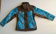 Oakley Road Fuel 3 men's ski jacket size M Teal/Brown