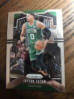 2019-20 Panini Prizm JAYSON TATUM Base Card #39 Celtics Read PWE!