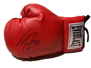 Tom Zbikowski Signed Boxing Glove Steiner