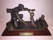 Franklin Mint Homecoming Sculpture by George McMonigle B11F695 Limited Edition