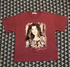 Vintage Celine Dion Tour Concert Album Promo T Shirt Pop R&B 90s 2000s XL