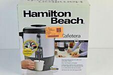 Hamilton Beach 40514 40-Cup Dispensing Coffee Urn Silver