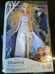 Disney Frozen 2 Singing Elsa Fashion Doll Musical Adventure Singing Doll
