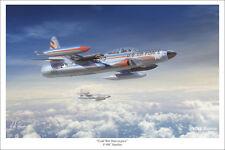 """F-94C Starfire Aviation Art Print - 16"""" x 24"""""""