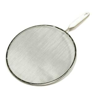 Chef Craft 21006 Splatter Screen, Stainless Steel/Aluminum, Painted 10 in...