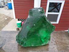Glass Rock Slag Clear Pretty Green 6.0 lb Rocks Dd90 Landscaping Aquarium