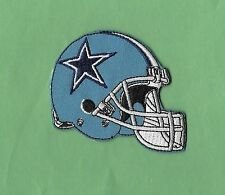 "New Dallas Cowboys 'Blue Helmet' 3X3 "" Inch Iron on Patch Free Shipping"