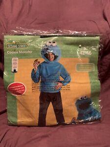 Cookie Monster Costume Licensed Sesame Street Adult Size 42-46