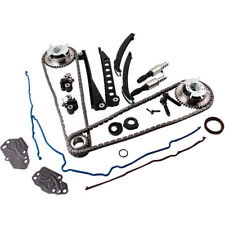 Fit Ford 5.4 TRITON 04-10 3-Valve Timing Chain Kit Cam Phaser Cover Gasket msr