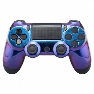 PS4 Controller Cover Case Hülle Gehäuse Flip Flop Effekt Slim Pro JDM-040-055