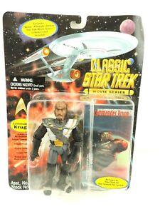 Star Trek Classic Commander Kruge Movie Series Action Figure Playmates 1995