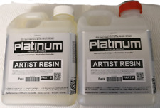 EPOXY ART Artist Resin - Ultra CLEAR coating - UV stable 2 ltr kit