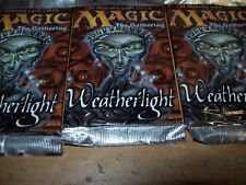 (3) MTG WEATHERLIGHT SEALED BOOSTER PACKS FREE SHIPPING WITH TRACKING