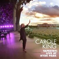 CAROLE KING TAPESTRY LIVE IN HYDE PARK CD & BLU-RAY ALL REGIONS NEW