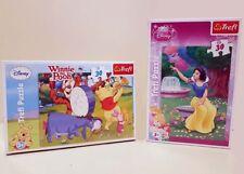 2x Puzzle, Disney Winnie The Pooh 30 pièces & Princess 30 pièces à partir de 3 ans