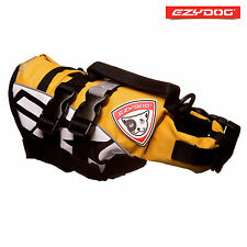 EzyDog Dog Life Jacket Flotation Device Buoyancy Aid L Yellow