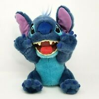 Disney Store STITCH Medium Plush Stuffed Animal Furry Alien Doll Kids Toy Lilo
