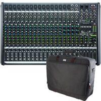 Mackie ProFX22v2 22-Ch 4-Bus PA Mixer + Gator G-MIXERBAG-2519 Equipment Bag