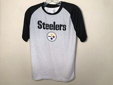 Steelers NFL Team Apparel  Youth Polyester T-Shirt Sz L