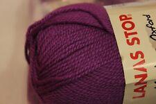 Lanas Stop Merino Oxford Light Purple Wool Yarn 12 Skeins