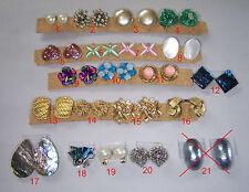 Damen-Schmuck Mode und Antik  Freie Auswahl aus 21 Paar Ohrclip (1 Paar)