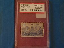 1001 1951 1876 - 1951 Colorado PSE Encapsulated & Graded XF-Sup 95 MINT OGNH