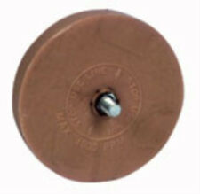 Rubber Eraser Wheel w/arbor pinstripe sticker decal tape glue adhesive remover