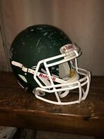 RIDDELL SPEED MATTE FOREST GREEN FOOTBALL HELMET - ADULT LARGE