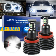 2x H8 LED Angel Eyes Standlicht für BMW E90 E91 E92 E60 E61 E71 E70 LCI X1 X5 X6