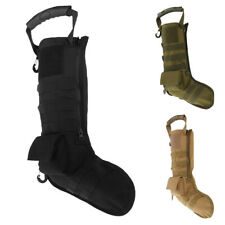 Tactical Molle Military Christmas Stocking Hanging Sock Storage Bag Pouch Case