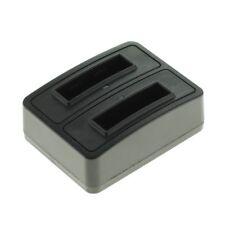 Dual Akkuladestation Lader für Nikon Coolpix S60 / Coolpix S80