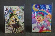 Pop'n Music eclale Rare Card Set KONAMI Game Anime JAPAN
