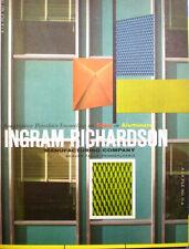 Ingram Richardson Catalog Cement ASBESTOS Curtain Walls Building Panels 1960's