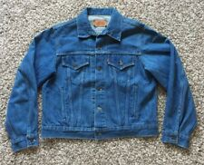 Vintage Levi's#70505-0216 Blue Jean Jacket Size 46 Made in Canada No Big E.