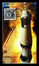 US COVER APOLLO 11 MAN WALKS ON MOON CELEBRATE CENTURY ALL OVER SPACE FDC