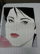 Vintage 1989 Art Resources Jessica Litho Poster Print Salon Hairstyler Beauty Pa
