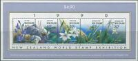 New Zealand 1990 SG1547 Native Orchids MS MNH