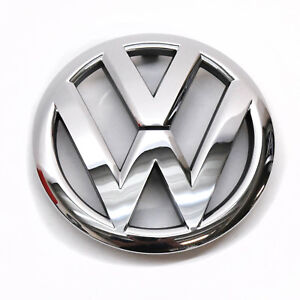 ORIGINAL VW Emblem Zeichen Logo chrom Kühlergrill Golf Cabrio 5K0853601F ULM
