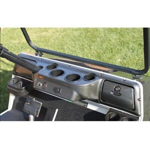 Club Car DS Golf Cart Carbon Fiber Dash Board Cover Fits 1982 and Up Models